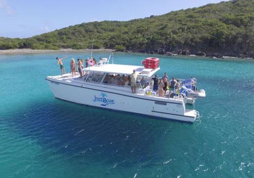 46 Power Cat Jost Boat
